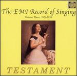 Emi Record of Singing 3