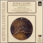 Kempe Conducts Brahms and Mendelssohn