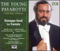 Verdi: La Traviata - Attilio d'Orazi (vocals); Augusto Pedroni (tenor); Bruno Cioni (bass); Gianbruna Rizzardini (soprano);...