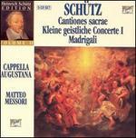 Sch�tz: Cantiones sacrae; Kleine geistliche Concerte I; Madrigali [Box Set]