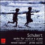 Schubert: Grand Duo/Rondo Brilliant/Fantasy-Jerome Ducros, Renaud