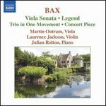 Bax-Works for Viola and Piano