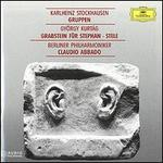 Stockhausen: Gruppen; Kurt�g: Grabstein f?r Stephan; Stele