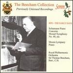 Schumann: Piano Concerto; Mozart; Symphony No. 40; etc.