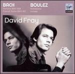 David Fray plays Bach & Boulez