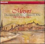 Mozart: Divertimento KV 563; 3 Fugues KV. 404a