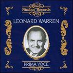 Prima Voce: Leonard Warren