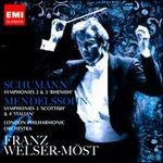 Schumann: Symphonies Nos. 2 & 3; Mendelssohn: Symphonies Nos. 3 & 4