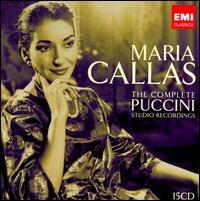Maria Callas: The Complete Puccini Studio Recordings - Alvaro Cordova (vocals); Angelo Mercuriali (vocals); Anna Moffo (vocals); Carlo Badioli (vocals); Carlo Bergonzi (vocals);...
