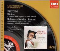Giacomo Puccini: Il trittico (Il tabarro - Suor Angelica - Gianni Schicchi) - Adelio Zagonara (vocals); Alfredo Mariotti (vocals); Anna Marcangeli (vocals); Anna Maria Canali (vocals);...