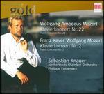 Wolfgang Amadeus Mozart: Klavierkonzert Nr. 22; Franz Xaver Wolfgang Mozart: Klavierkonzert Nr. 2