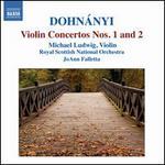 Dohn�nyi: Violin Concerto Nos. 1 and 2