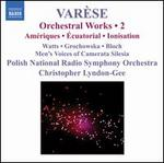 VarFse: Orchestral Works, Vol. 2