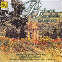 Boccherini: Symphonies Nos. 6, 8 & 26 - Ensemble for Eighteenth Century Music; Eiji Hashimoto (conductor)