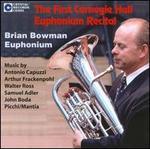 The First Carnegie Hall Euphonium Recital