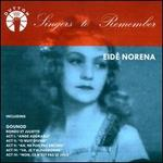 Singers to Remember: Eid� Norena