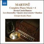 Martinu: Complete Piano Music, Vol. 4
