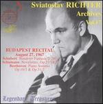 Sviatoslav Richter Archives, Vol. 17: Budapest Recital, 1967