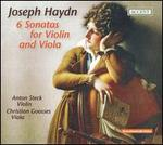 Haydn: 6 Sonatas for Violin and Viola