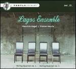 Mauricio Kagel, Tristan Keuris: String Quartets