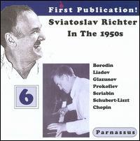 Sviatoslav Richter in the 1950s, Vol. 6 - Sviatoslav Richter (piano)