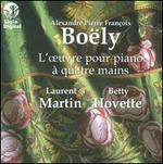 Alexandre Pierre Fran�ois Bo�ly: L'oeuvre pour piano � quatre mains