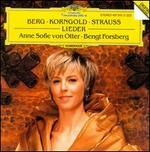 Berg, Korngold & Strauss: Lieder