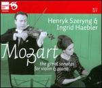 Mozart: The Great Sonatas for Violin & Piano