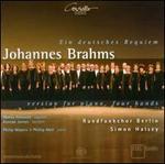 Ein Deutsches Requiem: Version for Piano, Four Hands