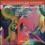 Hindemith: Music for Viola and Orchestra