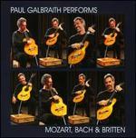 Paul Galbraith performs Mozart, Bach & Britten