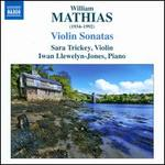 William Mathias: Violin Sonatas