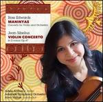Ross Edwards: Maninyas; Sibelius: Violin Concerto