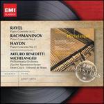 Ravel: Piano Concerto; Rachmaninov: Piano Concerto No. 4; Haydn: Piano Concerto No. 11