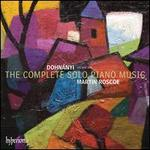 Erno Dohn�nyi: The Complete Solo Piano Music, Vol. 1