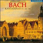 Bach: Cantatas BWV 51 202 199