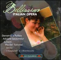 Bellissimo Italian Opera - Alessandro Svab (bass); Carlo Guelfi (baritone); Carlo Ventre (tenor); Christine Weidinger (soprano);...