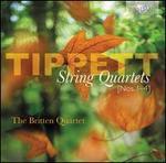 Michael Tippett: String Quartets Nos. 1-4