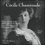 C�cile Chaminade: The Composer as Pianist