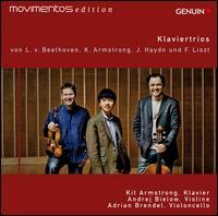 Beethoven, Kit Armstrong, Haydn, Liszt: Klaviertrios - Adrian Brendel (cello); Andrej Bielow (violin); Kit Armstrong (piano)