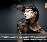 """Vivaldi: Concerti per Violino IV """"L'Imperatore"""" - Il Pomo d'Oro; Riccardo Minasi (violin); Riccardo Minasi (conductor)"""