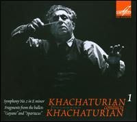 Khachaturian conducts Khachaturian, Vol. 1 - USSR State Symphony Orchestra; Aram Khachaturian (conductor)