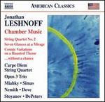 Jonathan Leshnoff: Chamber Music