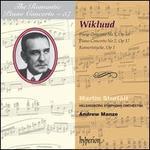 Adolf Wiklund: Piano Concertos Nos. 1 & 2; Konsertstycke