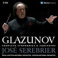 Glazunov: Complete Symphonies & Concertos - Alexander Romanovsky (piano); Alexey Serov (french horn); Marc Chisson (sax); Rachel Barton Pine (violin);...