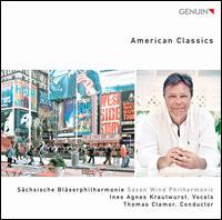 American Classics - Ines Krautwurst (vocals); Saxon Wind Philharmonic; Thomas Clamor (conductor)
