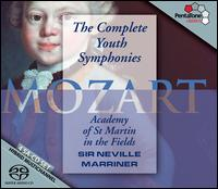 Mozart: Complete Youth Symphonies - Academy of St. Martin-in-the-Fields; Neville Marriner (conductor)