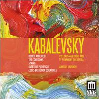 Kabalevsky: Romeo and Juliet; The Comedians; Overtures - Byelorussian Radio and TV Symphony Orchestra; Anatoly Lapunov (conductor)