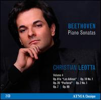 Beethoven: Piano Sonatas, Vol. 4 - Christian Leotta (piano)