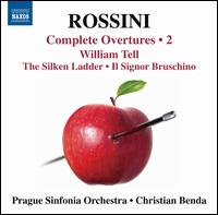 Rossini: Complete Overtures, Vol. 2 - Prague Sinfonia Orchestra; Christian Benda (conductor)